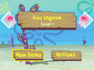 SpongeBob Main Menu