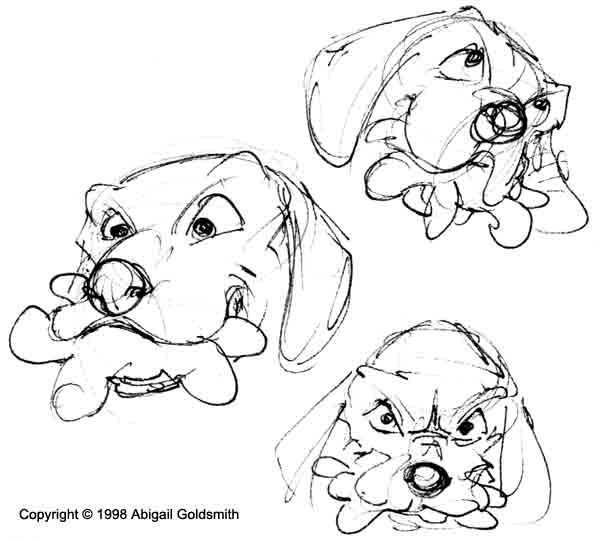 dog with squeaky toy animation thumbnails ~ short animated film