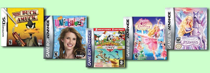Abby contributed artwork to these games.