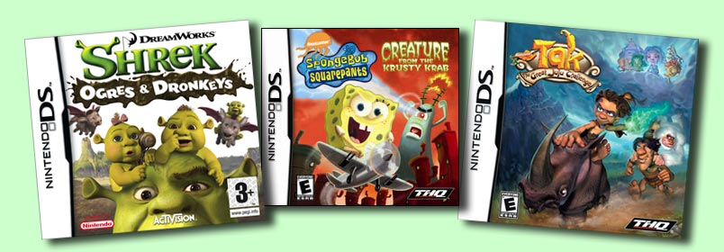 Abby was the Lead Animator on these games.