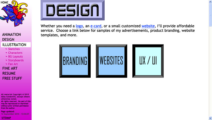 design page